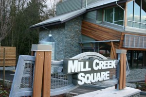 Mill Creek Square Sign